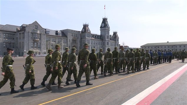 Le Collège militaire royal du Canada à Kingston