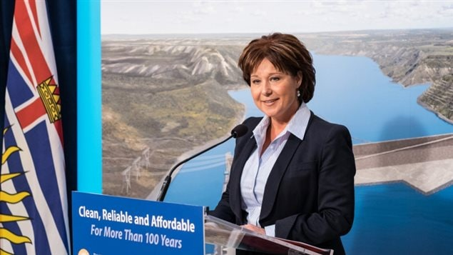 Premier Chisty Clark Site C approval