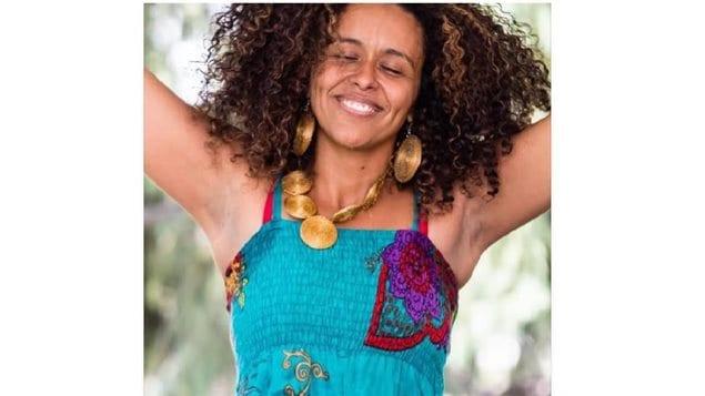 La chanteuse Flavia Nascimento