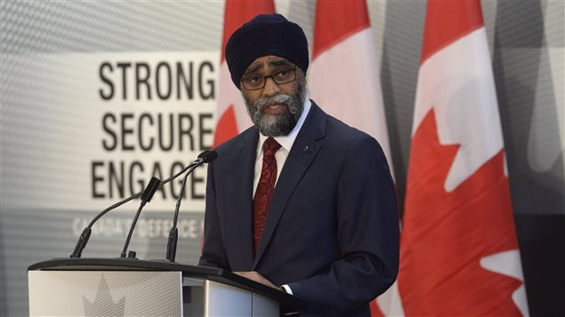 Defence Minister Harjit Sajjan unveils the Liberal government's long-awaited vision for expanding the Canadian Armed Forces in Ottawa on Wednesday June 7, 2017. Canada will increase defence spending by $13.9 billion over the next decade.