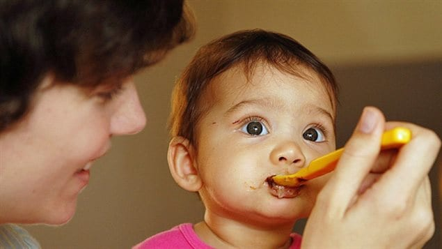 Most Canadian parents wait at least six months before giving their babies potentially allergenic foods.