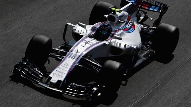 Lance Stroll, just 18, is in his first season with Williams F1 racing team.