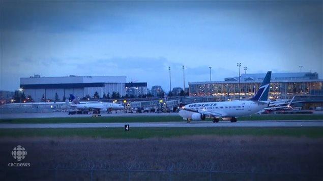 列治文的温哥华国际机场容易被水淹