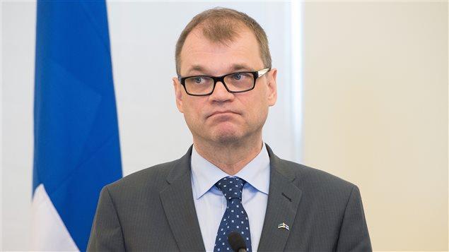 Juha Sipilä, primer ministro de Finlandia.