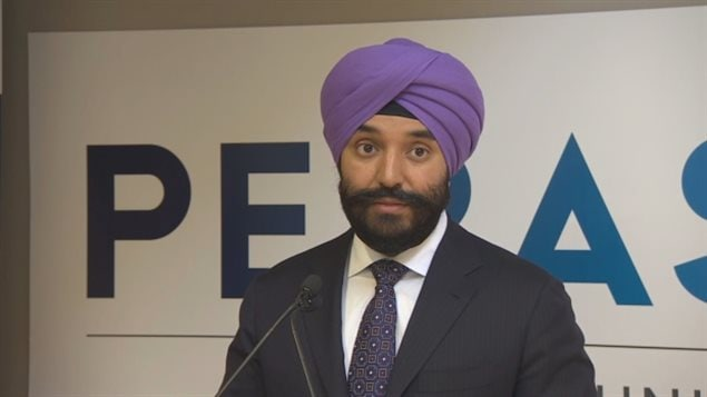 Innovation Minister Navdeep bains announced the Global Talent Stream initiative in March 2017.