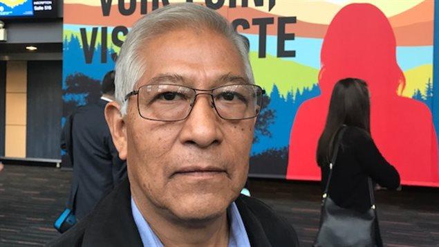 El sindicalista mexicano Benedicto Martínez Orozco