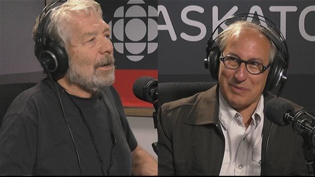 Michel Lalonde et Gilles Groleau
