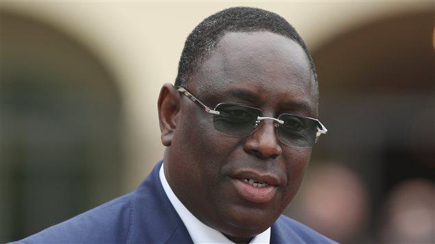 Macky Sall, presidente de Senegal.