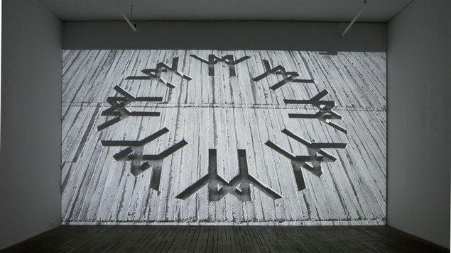 Partie de l'exposition, logo de l'expo 67