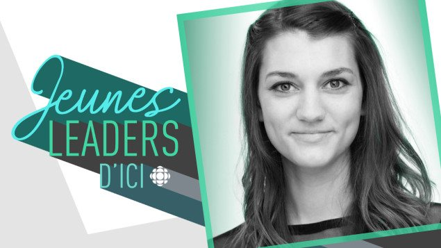 La Jeune Leader d'ICI de Colombie-Britannique Sophie Brassard