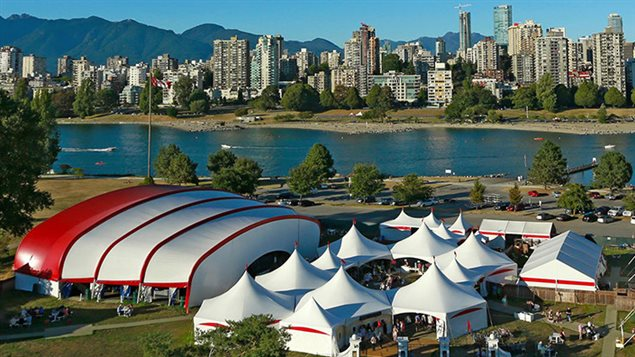 Bard On The Beach, Shakespeare Festival à Vancouver.
