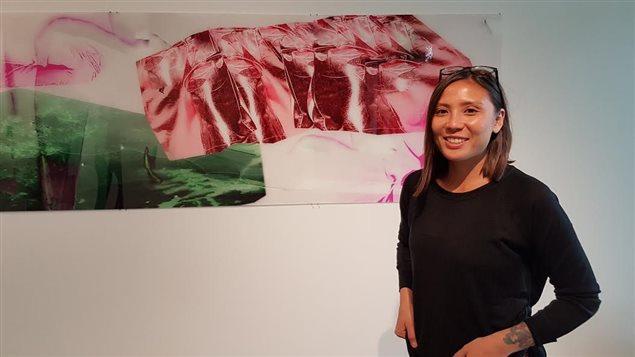 L'artiste franco-japonaise Kinu Kamura