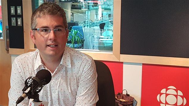 Nicolas Kenny, professeur d'histoire à SFU et spécialiste de politique provinciale.