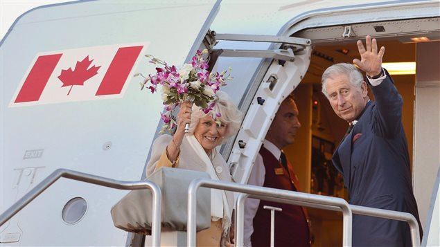 Prince Charles and his wife Camilla wave as they leave Winnipeg on May 21, 2014. Prince Charles and his wife Camilla will visit Canada this summer in time for the country's birthday. Governor General David Johnston says they have accepted the government's invitation to undertake a tour.