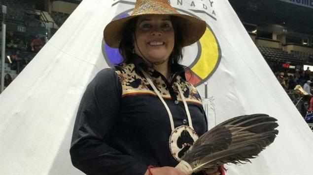 Racelle Kooy, membre des Premières Nations Secwepemc et St'atl'imc en Colombie-Britannique