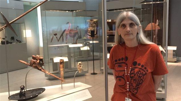 Susana Rowley, professeur adjoint département d anthropologie de Ubc et commissaireau Musée MOA.