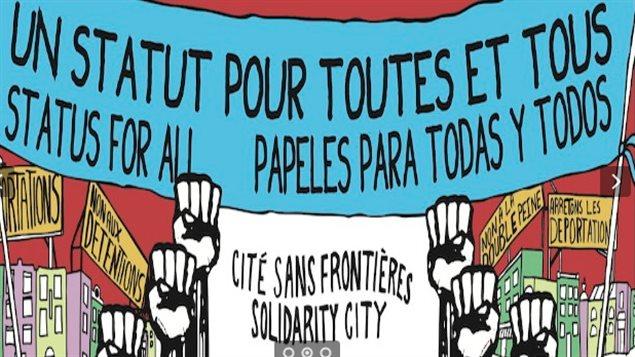 El grupo reclama el fin de las deportaciones y la regularización de todos los mexicanos en suelo canadiense.