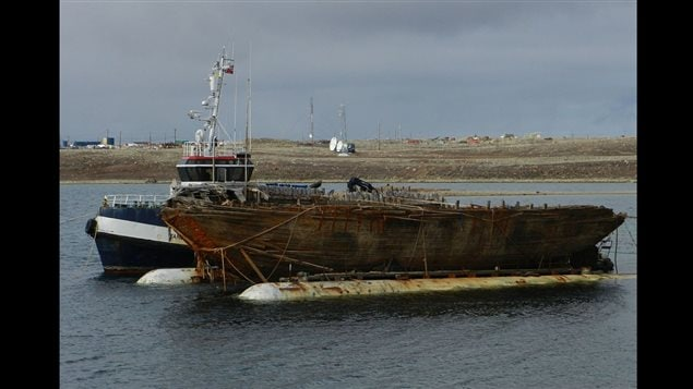 Maud refloated in 2016