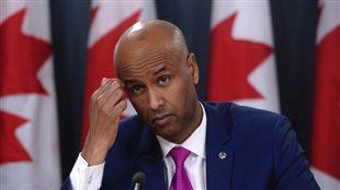 Le porte-parole du ministre de l'Immigration Ahmed Hussen.