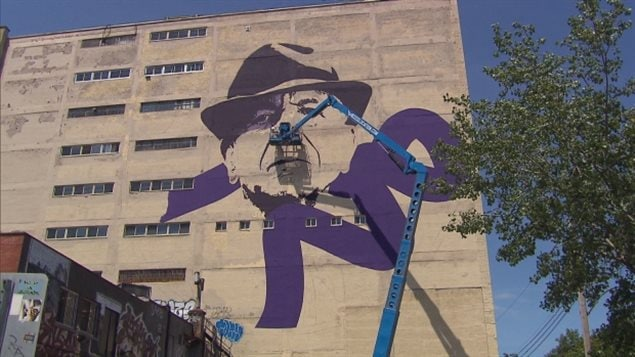 Leonard Cohen Mural Completed In Montreal