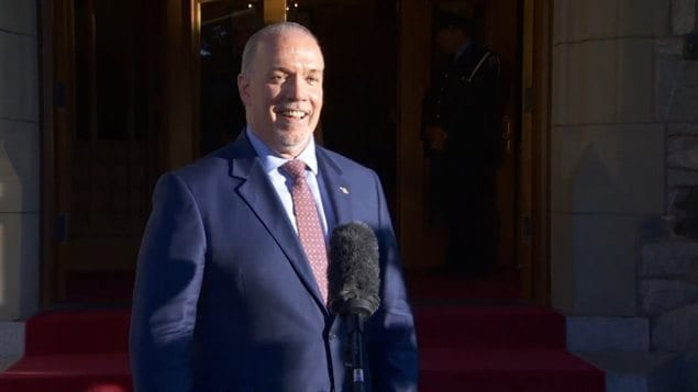 BC省即将上任的新民主党政府新省长John Horgan