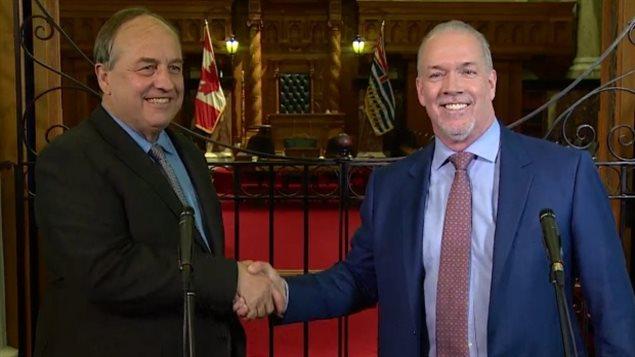BC省造王者绿党领袖Weaver一个月前与NDP结盟