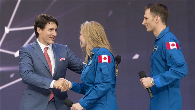Canada reveals two new astronauts during 150th anniversary celebration