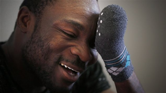 Seidu Mohammed lost all his fingers to frostbite when he crossed the U.S.-Canada border in a remote location in winter.