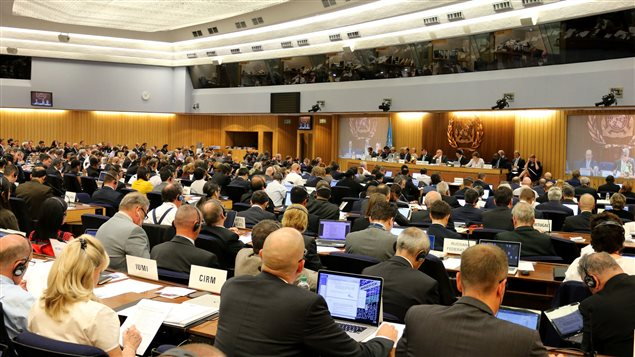 A busy Marine Environment Protection Committee (MEPC) is now under way at IMO Headquarters in London. The committee is expected to address the prevention of atmospheric pollution from ships, including a Canadian-backed proposal calling for work to begin on mitigating the risks of use and carriage of heavy fuel oil (HFO) as fuel by ships in the Arctic.