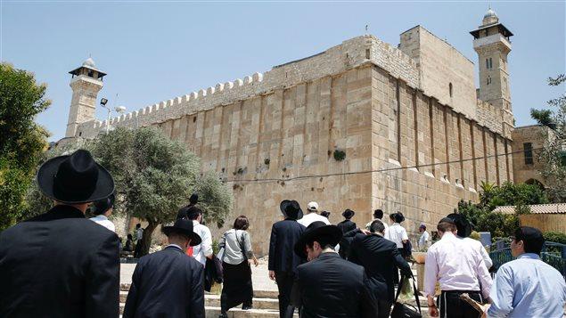 La Tumba de los Patriarcas, centro espiritual de la antigua ciudad de Hebron.