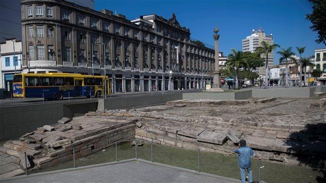 El lugar se encuentra en uno de los barrios de Río de Janeiro.