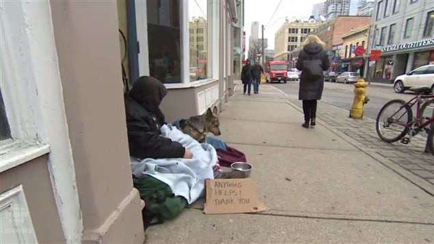 Panhandlers in Ontario are liable for tickets under the Safe Streets Act. Some have fines backed up totalling thousands of dollars. They say the tickets are another burden and mean they can never geet out of their cycle of poverty and homelessness.