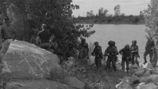 Sept. 18, 1990: Soldiers arrive on Tekakwitha Island in Kahnawake, provoking a burst of violence. Dozens of Mohawks are injured, as are 10 soldiers.