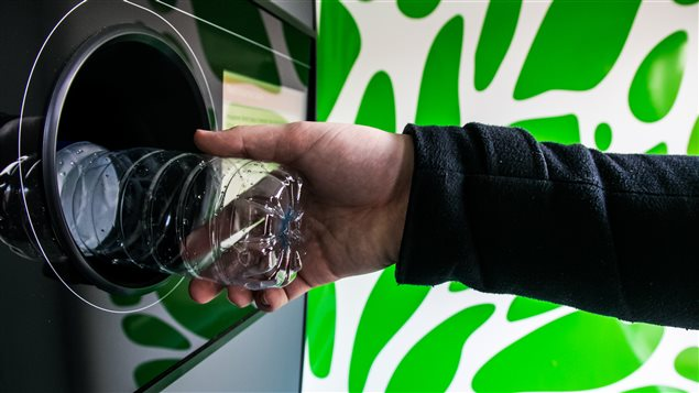 In most parts of Canada, consumers who return plastic bottles can recoup a cash deposit they made when buying the product.
