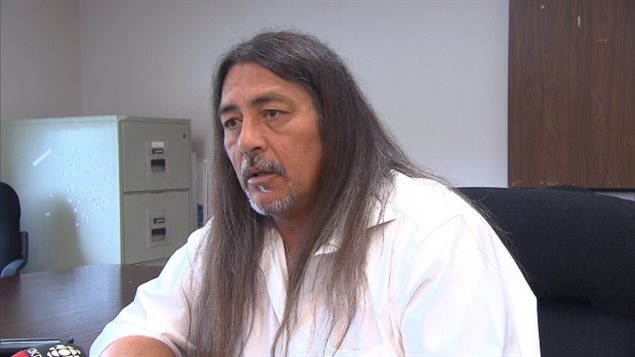 Serge Simon, the grand chief of the Mohawk Council of Kanesatake, worries the situation could escalate if nothing is done to stop the housing development.
