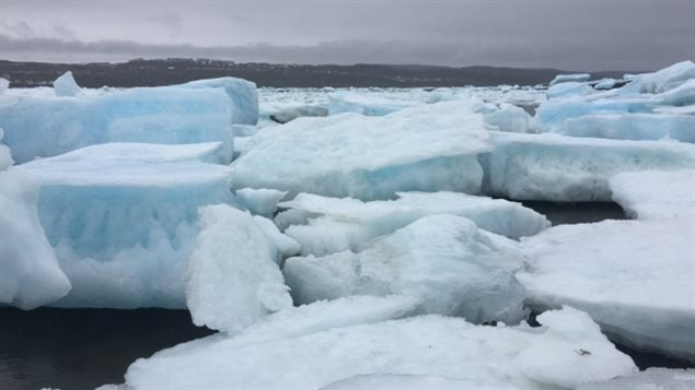 Climate change is dramatically affecting ice and other conditions in the Canadian Arctic.