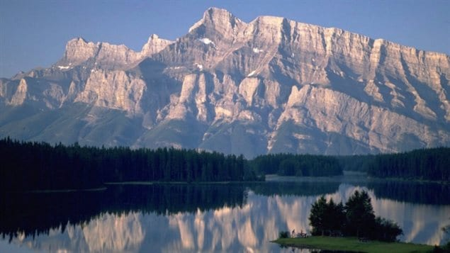 Banff National Park is among several parks that have seen an increase in rule violations by visitors.