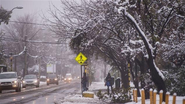 Santiago no registraba una nevada similar desde la década de 1970.
