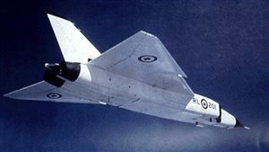 Canadian's national pride was shattered when the government ordered the sleek Arrow programme cancelled and everything including the six planes, destroyed. It was expected that with the Canadian engine it could attain Mach 3, unheard of at the time.