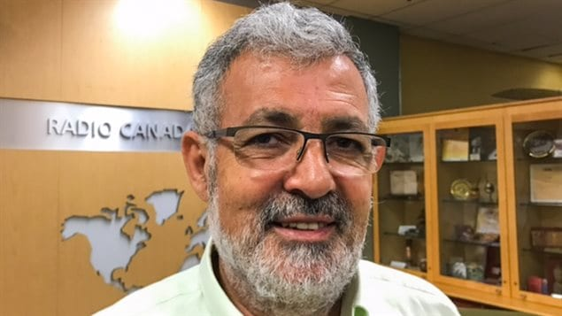 El imán Hassan Guillet, portavoz de la comunidad musulmana en la provincia de Quebec.