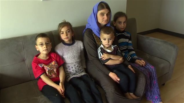 Nofa Zaghia and her remaining children have settled in the western city of Winnipeg.