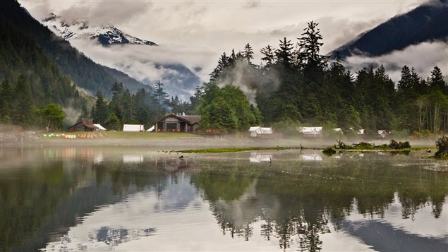 The Clayoquot Wilderness Resort is a luxury tent camp located in a UN-protected, pristine rainforest.