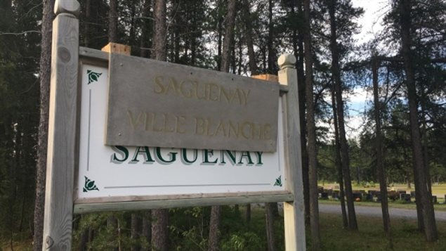 "A sign, which says ""Saguenay, Ville Blanche"" (""Saguenay, White City""), appeared Friday morning in the Quebec town of Saint-Honoré and was removed by Mayor Bruno Tremblay, who called it called 'unacceptable.'  A similar incident took place in the city of Sherbrooke."