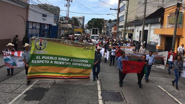 Los Xinca como modelo de reclamo por los derechos de los indígenas a tener voz y voto.