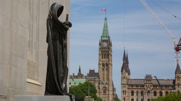 Corte Suprema y Parlamento canadiense.