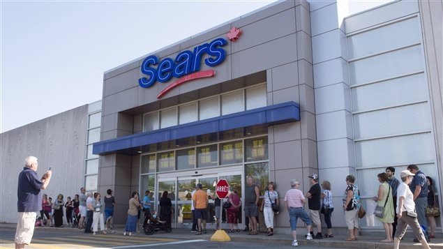 Sears Canada plans to close 59 stores and has already begun to liquidate stock.