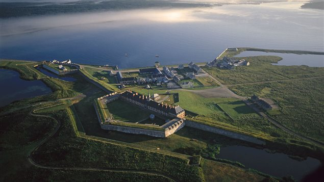 The massive Fortress Louisbourg was built in 1713 to protect access to French colonies and access to valuable fish stocks off the eastern coast of what is now Canada.