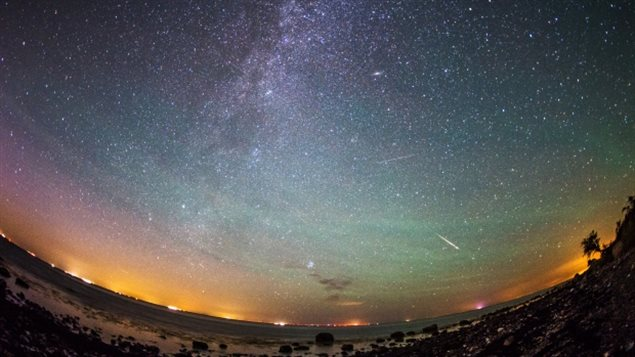 The Perseid meteor shower starts in early August and will peak between the 11th and 13th.