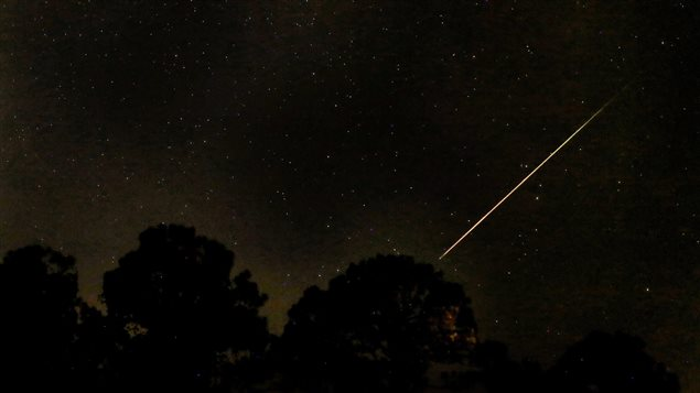 A dark sky is best for viewing shooting stars in early August.