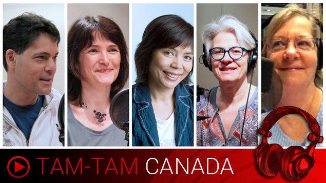 Vos animateurs cette semaine : Stéphane Parent, Anne-Marie Yvon, Wei Wu, Marie-Claude Simard et Leonora Chapman.